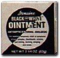 BLACK & WHITE Ointment 2.25 oz (White Ointment)