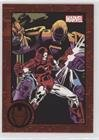 (Iron Man vs. Iron Monger (Trading Card) 2012 Rittenhouse Marvel Greatest Battles - [Base] - Red #03)
