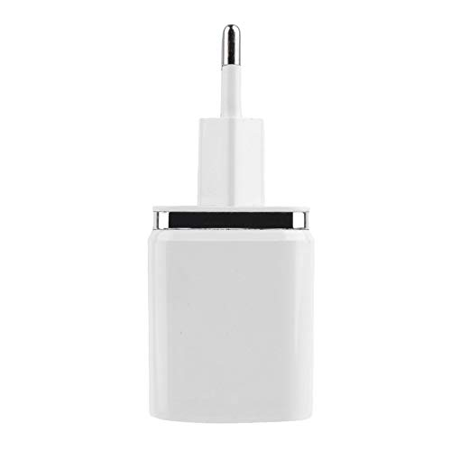 for Digital Camera and Other USB Devices ningbao951 White Plastic 4 Ports USB Travel Wall Charger Multi Power Adapter Pack US EU Plug for iPod for iPhone
