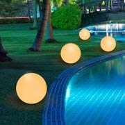OurBabies 16'' 16 Color RGB LED Ball Light Decorative Lamp Waterproof Indoor Outdoor