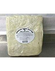 afrimports African Shea Butter, 100% Natural from West Africa, White, 5 lbs.