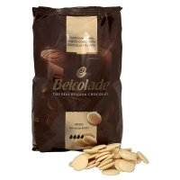 Belcolade White Chocolate - 1Kg 1KG