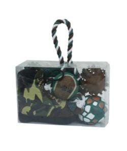Pet Life 6-Piece Hunter Camouflage Toy Set (5 Sets)