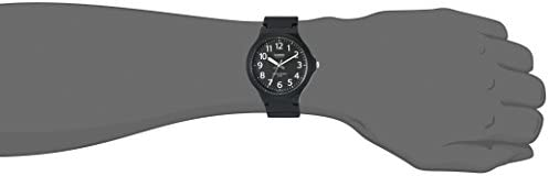 Casio Men's Classic Quartz Watch with Resin Strap, Black, 20.15 (Model: MW240-1BV) WeeklyReviewer