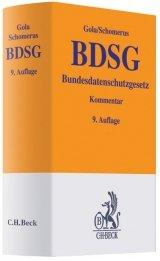 BDSG. Bundesdatenschutzgesetz