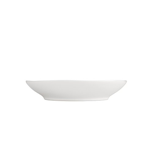 Ivory Coupe - Fortessa Vitraluxe Dinnerware Heirloom Matte Finish Coupe Pasta Bowl 9-Inch, Linen, Set of 4