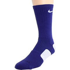 Nike Dri-Fit Elite Basketball Socks (X-Large), Purple, White