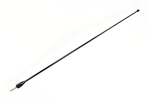 "AntennaMastsRus - 1985-2005 GMC Sierra 1500 - 15"" BLACK Custom Short Antenna Mast - HIGH QUALITY SPRING STEEL!!"