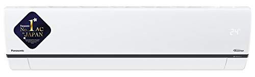 Panasonic 1 Ton 5 Star Wi-Fi Inverter Split AC (Copper, Nanoe air purification technology, 2020 Model, CS/CU-XU12WKYF…