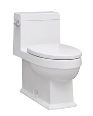 Icera C-2640.01 Karo One-Piece Toilet, White by Icera