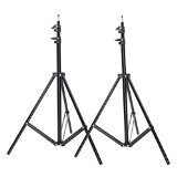 Neewer Set of Two 9 feet/260 centimeters Photo Studio Light Stands for HTC
