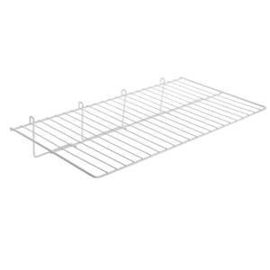 White Gridwall Shelf 23 1/2 x 12