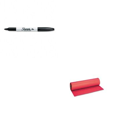 KITPAC101203SAN30001 - Value Kit - Pacon Decorol Flame Retardant Art Rolls (PAC101203) and Sharpie Permanent Marker (SAN30001) by Pacon
