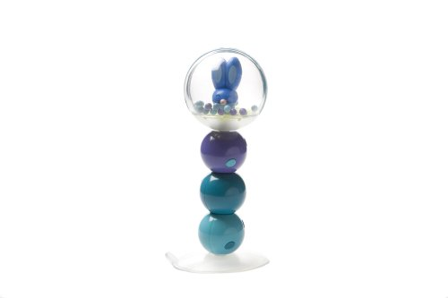 Character Table Rattle 16cm (6 inch) Blue/Orange