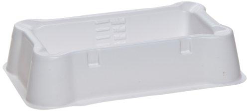 Heathrow Scientific HD20721B White Polystyrene Multi-Channel Reagent Reservoir, Non-Sterile, 100mL Volume (Pack of 100)