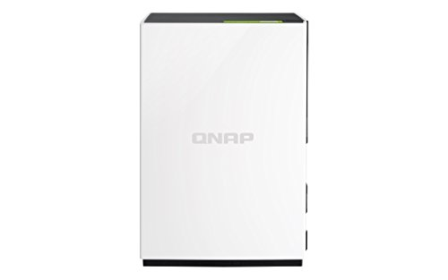 QNAP 1-Bay Personal Cloud NAS with DLNA, Mobile Apps & AirPlay Support  (TS-128-US)