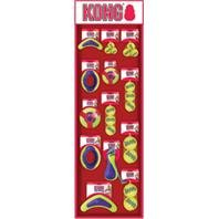 Kong Company 229AC15 55 Piece Air Dog Squeaker Toy Display
