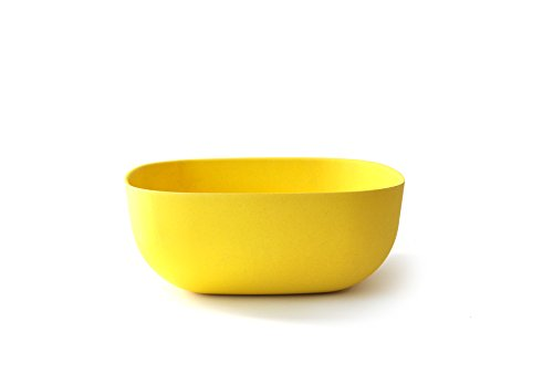 EKOBO Biobu 170 oz Gusto Salad Bowl, Large, Lemon by EKOBO