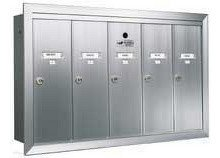 Auth Florence Verticals 1250-5 Stock Color, Aluminum