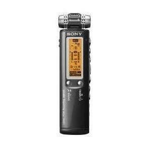 Sony ICD-SX750D Digital Flash Voice Recorder With Dragon Naturally Speaking Voice to Print Software (Black)