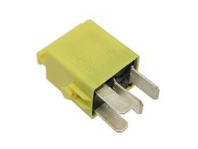 BMW e32 e34 e36 e38 Multi Purpose Relay 4-Prong (Yellow) e31 e39 z8 GENUINE BMW