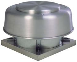 Fantech 5ADE102A Direct Drive Axial Exhaust Roof Vent, 10'', 547 CFM, 1/30 hp, 115V, ODP