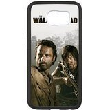 S6 Case, Protective Hard Rubber Gel Samsung Case Cover Skin for Samsung Galaxy S6 - The Walking Dead (S6G109)