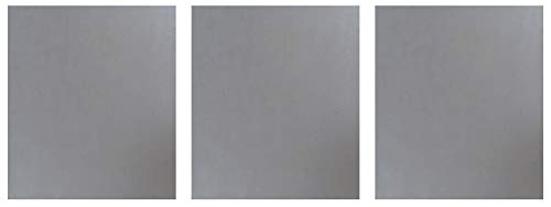 M-D Building Products 56066 1-Feet by 2-Feet 22 ga Weldable Steel Sheet (Three Pack)