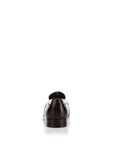 Azor Messina 2 Halbschuhe Leder schwarz, Groesse:42.0
