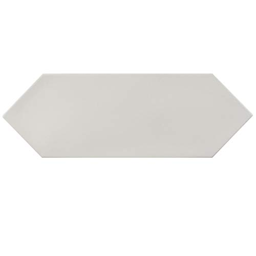 SOMERTILE FEQ12KWT Cometi Porcelain Floor and Wall Tile, 4