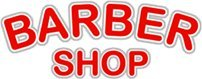 BARBER SHOP Window Cling Sign product image