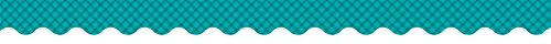 Creative Teaching Press Teal Gingham Border (8417)