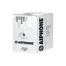 Aiphone Two Wire (Aiphone 87200250C 20-AWG 2-Conductor Mid Capacitance Solid Non-Shielded Wire, PE Insulation, 500 Feet)