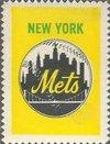(1962 Topps Stamps (Baseball) card#194 new york mets logo of the New York Mets Grade Good)