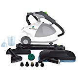 """Steamfast SF-275 Heavy-Duty Sanitizing Steam Cleaner with Wheels and Casters Dimensions:17.32"""" L x 11.10"""" W x 13.00"""" H"""