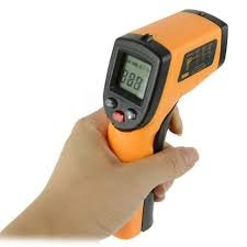 Infrared Thermometer, Infrared Temperature Gun- Non-Contact Infrared Digital Thermometer By Kat-JL Veteran Owned- LCD Display, Versatile Uses, Auto Shut Off, (-58°F - 788°F)