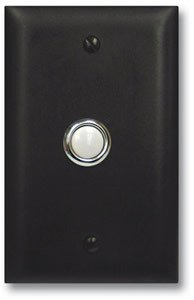 - Viking Electronics Door Bell Button Panel in Bronze