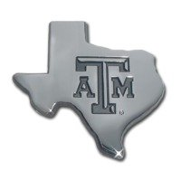 Texas A&M (TX shape debossed) Premium NCAA Athletics Car Truck Auto - Jersey New In Outlets Premium