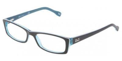 D&G DD 1212 Men's Eyeglasses Black Turquo / White Turquo - D&g Eyewear