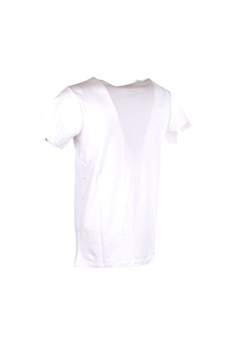 T-shirt Uomo Yes-zee L Bianco T721 Tc00 Primavera Estate 2018