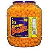 Product of Utz Cheese Ball Barrels 35 oz. (2 pk.) - Chips [Bulk Savings] - PACK OF 2