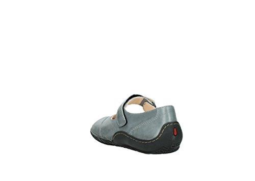Wolky Comfort Riemchenschuhe Light 30250 grau Leder