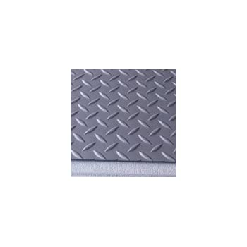 G Floor Diamond Tread Pattern Slate Gray 9u0027 X 20u0027 Roll Out Garage Flooring