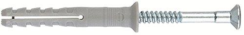 FISCHER 050355 - Taco clavo N 6X60/30 nylon S (50) (Envase de 50 ud.) 775227