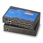 MOXA NPort 5650-8-DT 8-Serial Port Serial Device Server, 10/100 Ethernet, RS-232/422/485, DB-9M, 15KV ESD, 12-48VDC, 110V Power Supply by Moxa