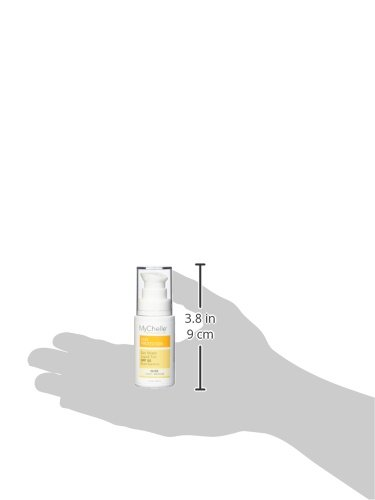 MyChelle Sun Shield Liquid Tint SPF 50 in Nude, Oil-Free Zinc-Oxide Tinted Sunscreen for All Skin Types, 1 fl oz by MyChelle Dermaceuticals (Image #4)