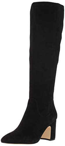Hai Knee High Boot, Black Suede, 7 M US ()