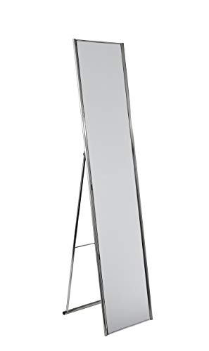 Adesso WK2444-22 Alice Floor Mirror - Powder Coated Champagne Full Length Mirror with Steel Finishing. Home Decor Accessories (Large Mirror Wall Leaning)