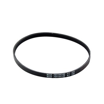 MTD Genuine Part 754-04149 Genuine Parts Lawn Edger Belt OEM part for Troy-Bilt Cub-Cadet Craftsman Bolens Remington Ryobi Yardman Yard-Machine White