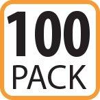100 - 6.5x9 #0 Fosmon Kraft Bubble Mailers Padded Envelopes - (100 Pack)